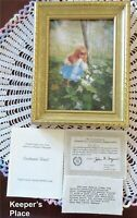 Donald Zolan ENCHANTED FOREST Framed Signed Lithograph Print COA Brochure New