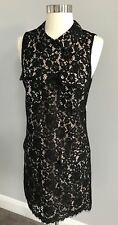 NWT$138.00 J.CREW Women's Black Lace Dress With 4 Pockets Size 4