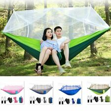 Double Person Travel Portable Camping Tent Hanging Hammock Bed With Mosquito Net