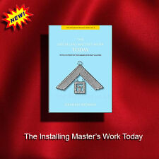 Masonic book -The Emulation Pocket Series No.6, Installing Master's Work Today
