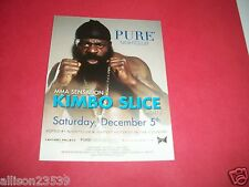 KIMBO SLICE ADVERTISING FLYER - PURE NIGHTCLUB