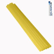 Ausbeulkleber 7 mm  - AUSBEUL PDR HEIßKLEBER für DELLENLIFTER  - 10 Sticks gelb