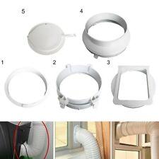 1pc 15CM Klimaanlage Quadratisch Exhaust Duct Interface Schlauch Adapter Teile