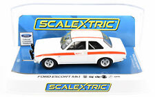 Scalextric Ford Escort Mk1 - 50th Anniversary DPR W/ Lights 1/32 Slot Car C3934
