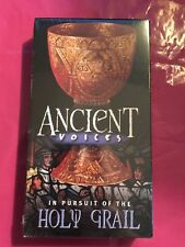 Ancient Voices In Pursuit of the Holy Grail - VHS Travel Video BRAND NEW SEALED