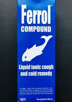 Ferrol Compound Liquid Tonic Cough And Cold Remedy LARGE 16.9oz 500ml Exp 2023