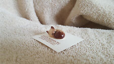 Hagen Renaker Cat Kitten Asleep Siamese Figurine Miniature Free Shipping 04031