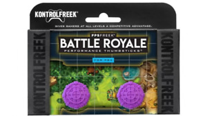Kontrol Freek  PURPLE/BATTLE ROYALE Thumbsgrips, PS4/PS5 BRAND NEW