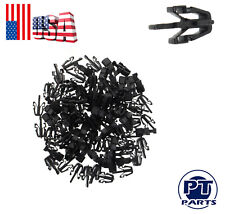 100pcs Black ABS Grille Clip Retainer Fit For GMC Chevy Mazda Toyota 90467-13011