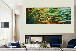 Mangrove Breeze oil original art painting artwork  abstract landscape