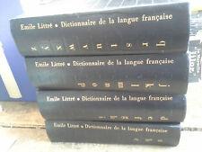 Dictionnaire de la langue française / Emile Littré complet en 4 volumes