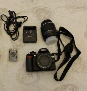 Nikon d60 NUOVA + Obiettivo 18-55 VR + SD