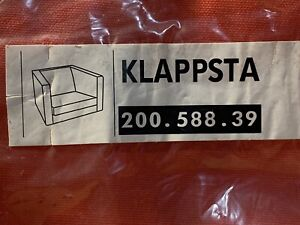 NEW IKEA KLappsta Armchair Chair Cover Slipcover Red 15148