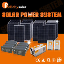 10KW solar energy solar panel solar power system home free electricity