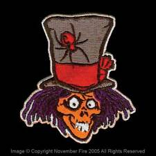 Patch Top Hat Ghost Haunted Mansion Skull Halloween Spooky Death Spider NFP015