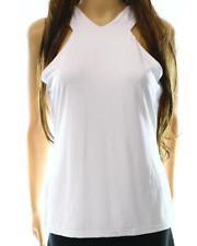 RALPH LAUREN $99 Womens WHITE Stretch SHIRT TOP TANK SZ XL NWT
