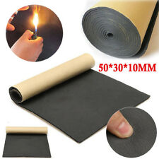 30*50cm 10MM Car Sound-proofing Deadening Insulation Foam Mat Acoustic Panel