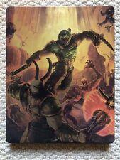 Doom Eternal Steelbook Game Case PS4 Xbox One - NO GAME.