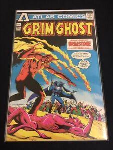 Grim Ghost #3 Very Fine- VF- (7.5)  Atlas Comics 1975