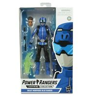 Power Rangers Lightning Collection - Beast Morphers Blue Ranger Action Figure