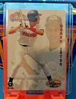 1994 Ted Williams The Campaign Derek Jeter Rookie #124 New York Yankees HOF
