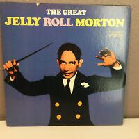 "JELLY ROLL MORTON - ""The Great""  ORPHEUM Records - 12"" Vinyl Record LP - EX"