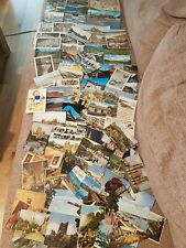 Job lot of 80 vintage postcards - 1950s & 1960s UK & world wide collectible