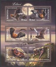 Romania 2006 Bats/Wildlife/Nature/Animals/Conservation 6v sheetlet (n16422)
