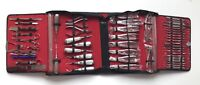 61 PCS ORAL DENTAL SURGICAL EXTRACTION SURGERY ELEVATORS FORCEPS INSTRUMENTS KIT