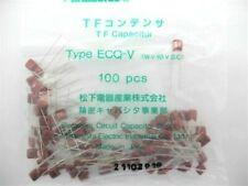 25 Pcs - .047uf (473) @ 63v PANASONIC ECQ-V -  Met. polyester capacitor -  #115