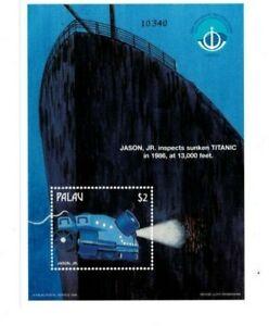 Palau - 1998 - Deep Sea Robots - Souvenir Sheet - MNH