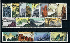 PEOPLE'S REPUBLIC OF CHINA Sc #'s 716 - 731, USED / FINE-COMPLETE SET! SCV $206