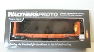Walthers Ho Proto Series Ltd Edit. 50' CC&F Bulkhead Flatcar#920-104305 CN NIB
