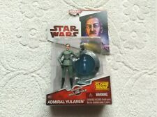 """Star Wars The Clone Wars Admiral Yularen 3.75"""" Hasbro"""