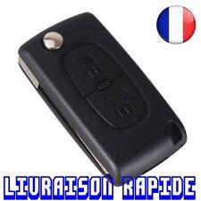 Carcasa De Llave 2 Botones Reemplazo Peugeot CE0536 207 307 308 407 807 Abatible