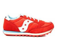 Saucony Jazz SK262479 Rosso Sneakers Donna Bambini Scarpa Casual Sportiva