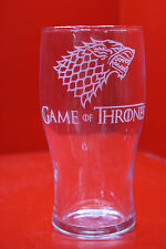 LASER inciso Pinta Game of Thrones STARK Dire Wolf Design