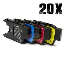 20x Ink Cartridge LC73 LC40 LC77 XL for Brother MFC J430W J432W J6910DW Printer
