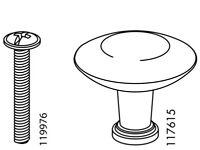 1 x IKEA # 128745 New Screw ReplacementFor  Neiden Mockelby Morbylanga Others