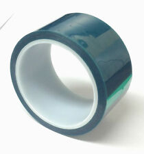 High Temparature Powder Coating Polyester Silicone Masking Tape 2 In. 36Yd Green