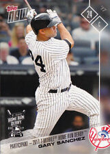 2017 Topps NOW HRD-8 Gary Sanchez Yankees All Star T-Mobile Home Run Derby