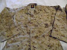New USMC Desert Marpat Camouflage Set Jacket and Pants Size Small Regular