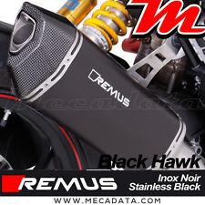 Silencieux échappement Remus Black Hawk sans cat Ducati Hypermotard 939 - 2017