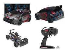 Traxxas Ford Fiesta ST Rally Rally-bred Rallytqi Brushed senza