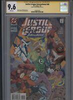 Justice League International #60 CGC 9.6 SS Ron Randall 1994