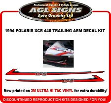 1994 POLARIS XCR 440 Reproduction Trailing Arms Decal Kit