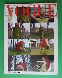 Vogue Italy May 1999 May 585 Amber Valletta Fernanda Tavares Tim Walker 5/99