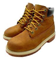Timberland Primaloft Premium Waterproof Boys Boots Wheat Nubuck US Size 4.5