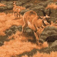 Blank Quilting Pronghorn Pasture 6647 Sage Rocky Mountain Sheep Yardage