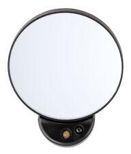 Tweezerman Tweezermate Small Round 10x Magnifying Lighted/Lit Travel Mirror